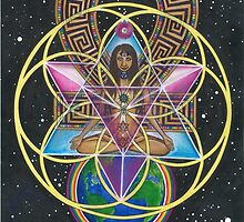 Merkaba Chakra Healing and Immortality Activation by Francesca Love Artist