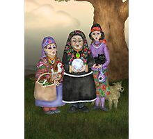 The Three Romanian Witches Photographic Print