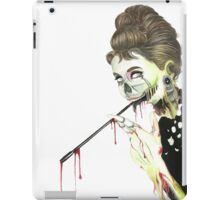 Zombies at Tiffany's iPad Case/Skin