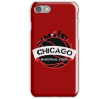 Chicago Basketball Association iPhone Case/Skin
