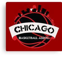 Chicago Basketball Association Canvas Print