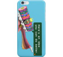 """King of all Cosmos """"Here's an idea: You can do better."""" Katamari iPhone Case/Skin"""