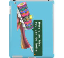 """King of all Cosmos """"Here's an idea: You can do better."""" Katamari iPad Case/Skin"""