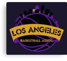 Los Angeles Basketball Association Canvas Print
