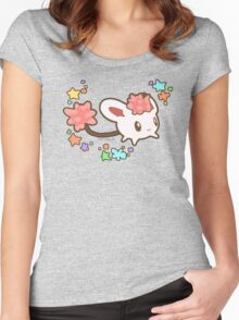Hometown Story Pochica Harvest Moon game Women's Fitted Scoop T-Shirt