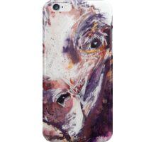 Gloomy Cow iPhone Case/Skin