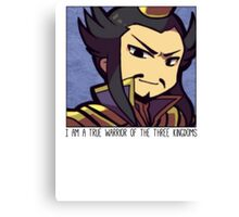 Dynasty Warriors Cao Cao of Wei chibi Canvas Print