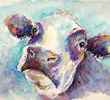Gentle Cow by Louise Fletcher