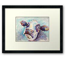Gentle Cow Framed Print