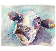 Gentle Cow Poster
