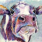 Purple Cow by Louise Fletcher