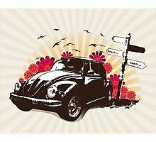 VW Easygoing Photographic Print