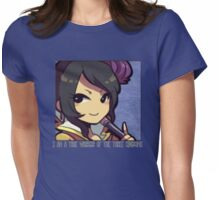 Dynasty Warriors Zhen Ji of Wei chibi Womens Fitted T-Shirt