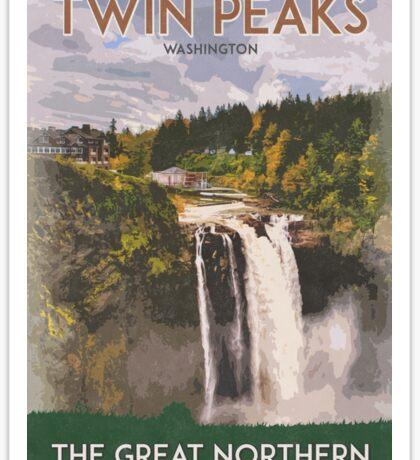 Twin Peaks, Great Northern Hotel Sticker