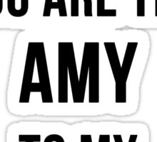 Amy+Rory Sticker