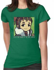 Dynasty Warriors Liu Shan of Shu chibi Womens Fitted T-Shirt