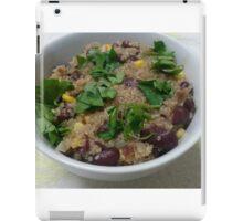 Quinoa, Beans and Corn iPad Case/Skin