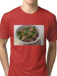 Quinoa, Beans and Corn Tri-blend T-Shirt