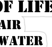 The Necessities Of Life: My Cousin - Black Text Sticker