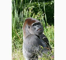 """A gorilla """"Silver Back"""" (10 c) (h) who is the star of the day .... Unisex T-Shirt"""