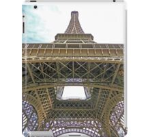 To the top of the Eiffel Tower, Paris iPad Case/Skin