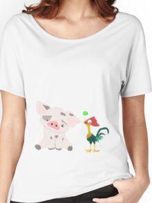 Hei Hei and Pua Women's Relaxed Fit T-Shirt
