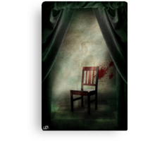 Composition with a chair Canvas Print