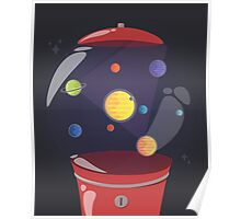 Gumball Machine In Space Poster