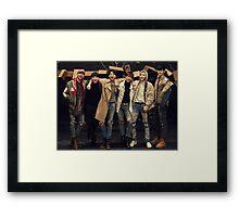 B.A.P Matrix  Framed Print
