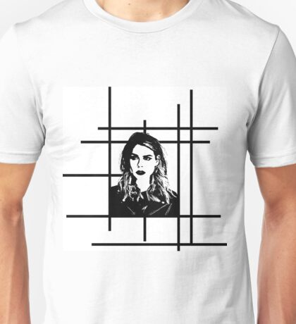 High Contrast Billie Piper with Background Design Unisex T-Shirt