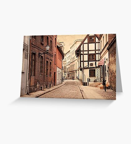 The City of Nicolaus Copernicus Greeting Card