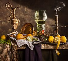Still Life with Roemer & Lemons by Jon Wild