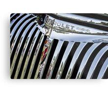 1946 Chevrolet Grill Metal Print