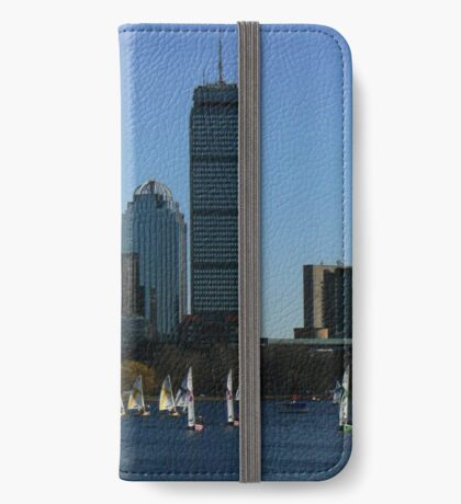 Boston In The Summer iPhone Wallet/Case/Skin