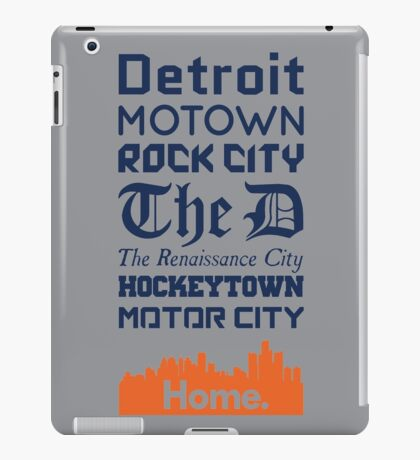 Detroit Is My Home - Tigers Edition iPad Case/Skin