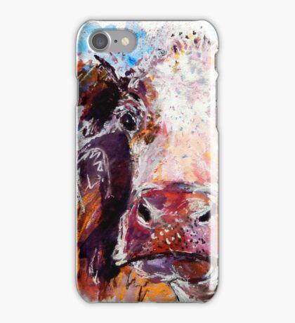 Sad Cow iPhone Case/Skin