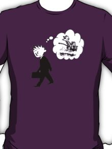 Old Calvin, Good Memories - Calvin & Hobbes T-Shirt