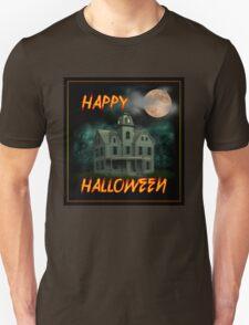 Haunted Mansion - Happy Halloween Unisex T-Shirt