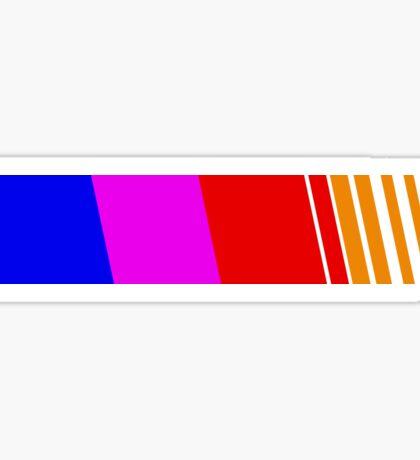 Racing Stripe Sticker