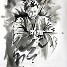 Best gift for men, samurai ronin for sale by Mariusz Szmerdt