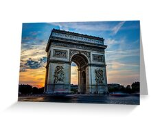 Arc De Triomphe 3 Greeting Card