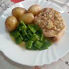 Chicken Breasts In Red-wine Vinegar, Rosemary And Garlic by Michael Redbourn