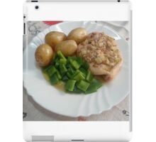 Chicken Breasts In Red-wine Vinegar, Rosemary And Garlic iPad Case/Skin