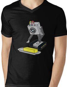 Rick & Morty Pass The Butter Mens V-Neck T-Shirt