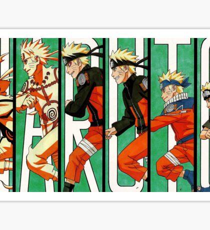 Naruto - Evolution Sticker