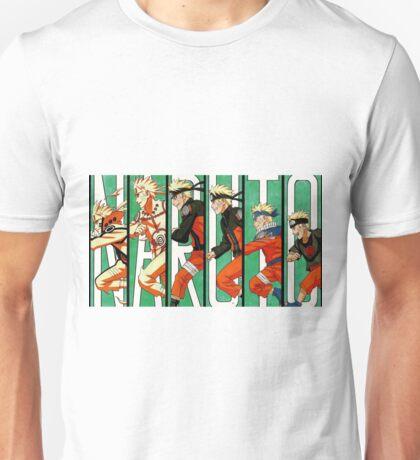 Naruto - Evolution Unisex T-Shirt