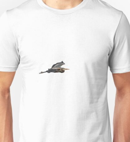 Isolated Great Blue Heron 2015-2 Unisex T-Shirt