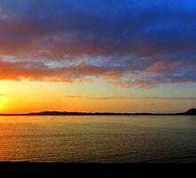Another Beautiful Oregon Sunset. Waldport, Oregon by trueblvr