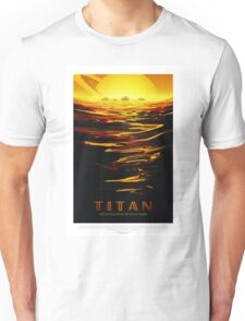 Space Toursim Titan Unisex T-Shirt