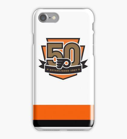 Philadelphia Flyers 50th Anniversary iPhone Case/Skin